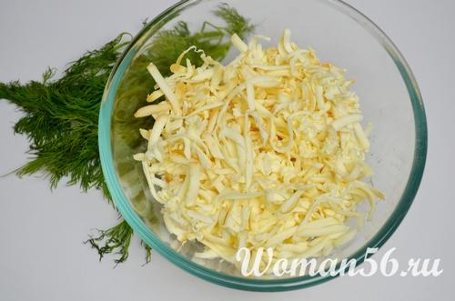 натертый сыр для ватрушек