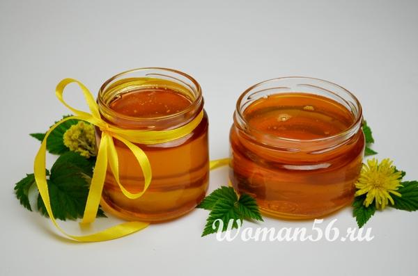 густой мед из одуванчиков