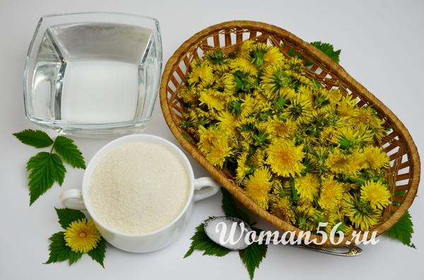 цветы одуванчики для меда