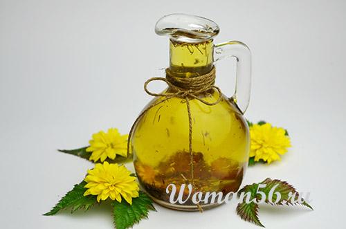 чесночное оливковое масло