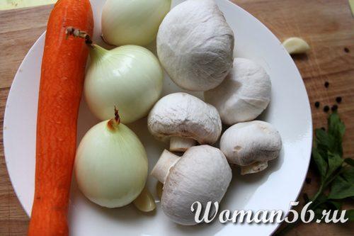 овощи для галантина