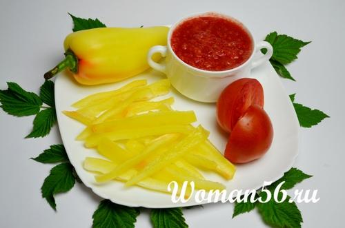 овощи для подливки