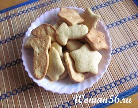 простое домашнее печенье фото