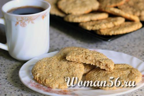 Овсяное печенье рецепт без масла