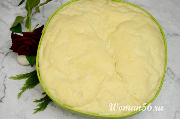 пышное тесто на йогурте