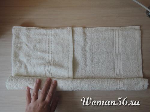 сложеное полотенце