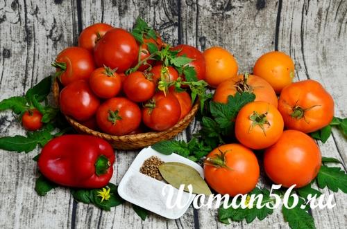свежие помидоры для сока