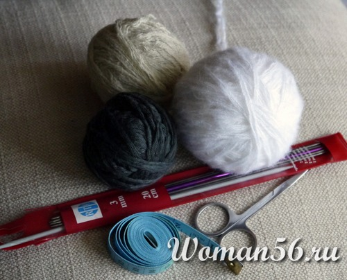 пряжа для вязания шапки