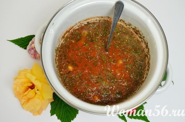 приготовление облепихового соуса