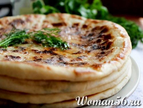 Хачапури по-имеретински рецепт с фото