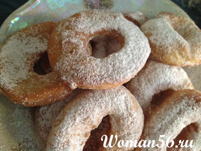 Рецепт пончиков с фото