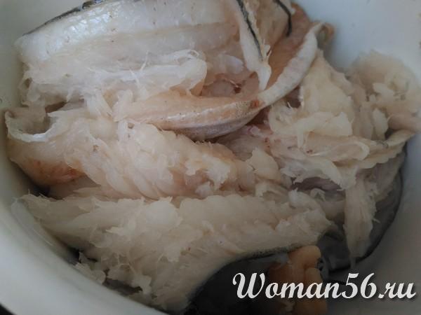 филе минтая для рыбного фарша