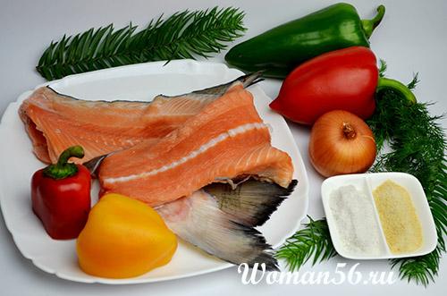 ингредиенты для заливного из рыбы