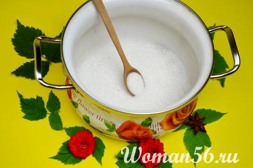 сахар для дыни в сиропе