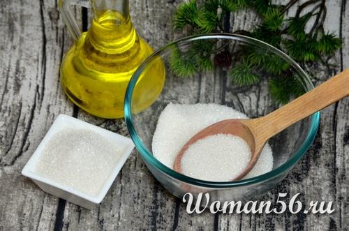 сахар с маслом для печенья