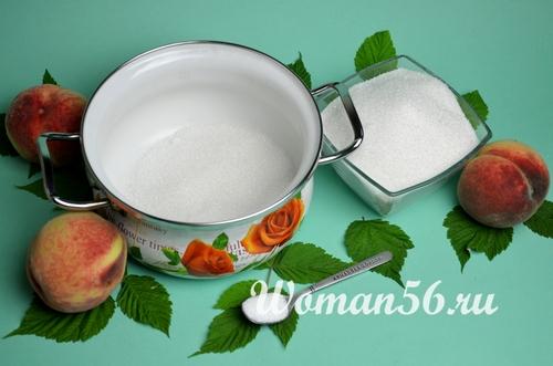 сироп для персиков