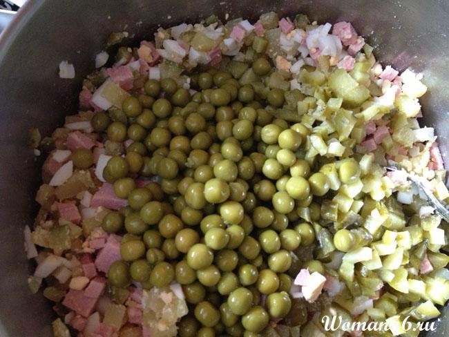 Как приготовить оливье. Салат оливье классический