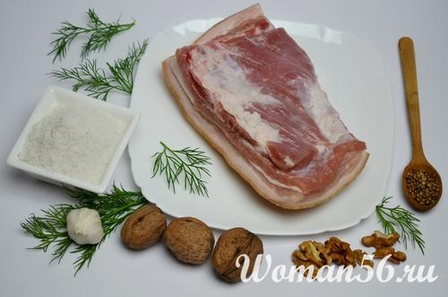 свиное сало для засолки