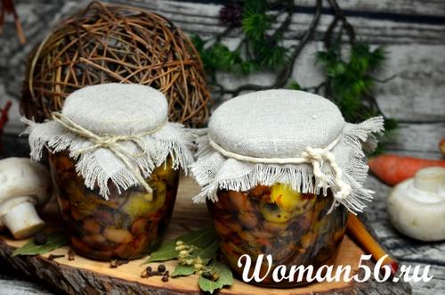shampinony-s-fasolyu-recept