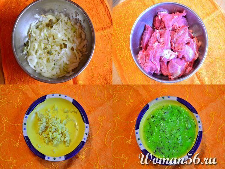 рецепт маринада для шашлыка из баранины