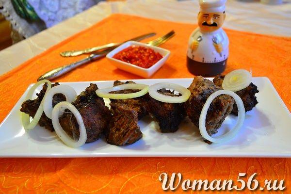 шашлык из баранины рецепт с фото