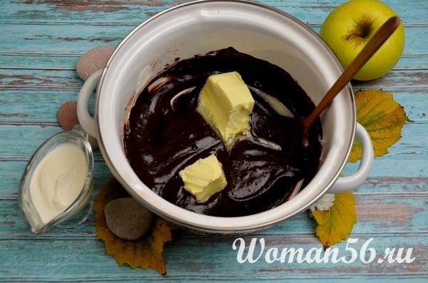 шоколадная глазурь для выпечки