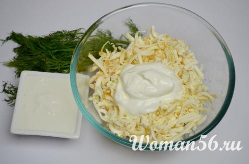 сыр со сметаной для ватрушек