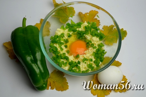 сыр с яйцом для фаршировки грибов