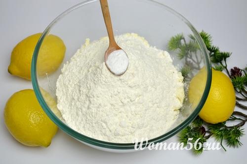 сода для песочного теста