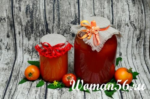 сок томатный рецепт на зиму
