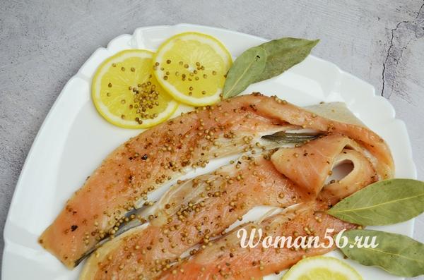 Как солить брюшки лосося