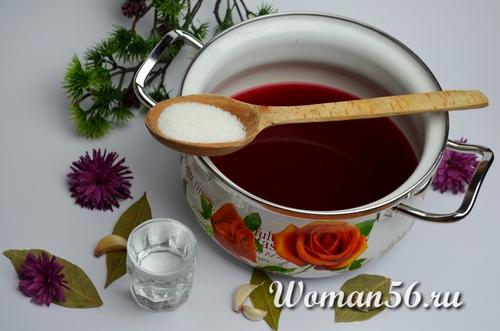 соль для маринада свеклы
