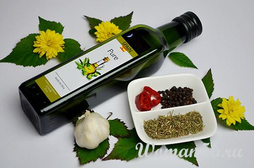 пряности для оливкового масла