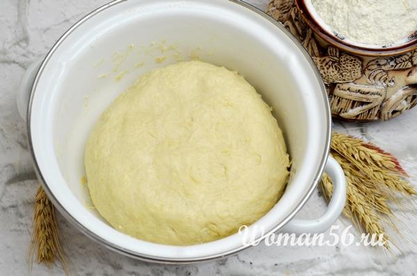 тесто для горчичного хлеба