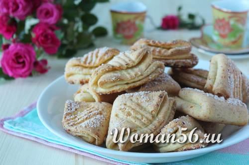 Печенье гусиные лапки рецепт без творога 183