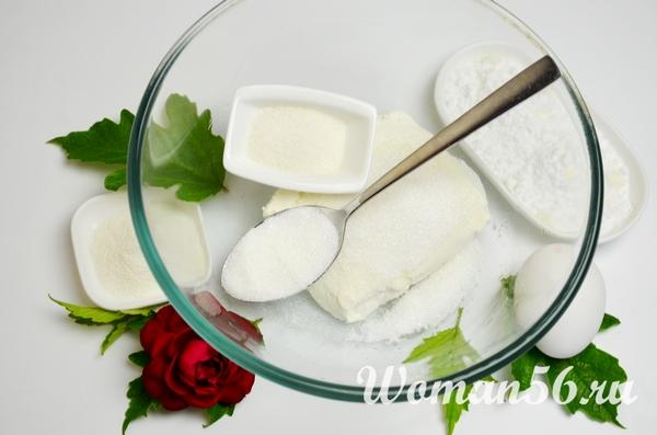 творог с сахаром