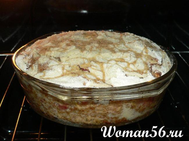 Яблочный торт. Рецепт