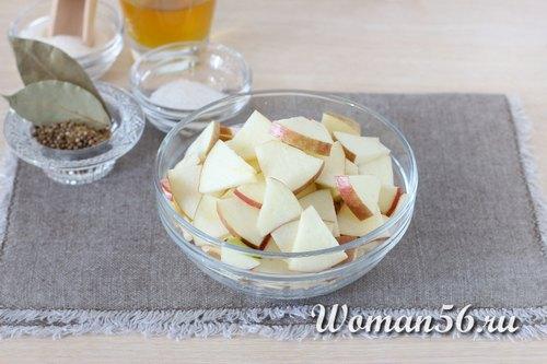яблоки для квашеной капусты