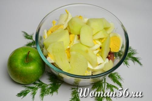 яблоки для форшмака