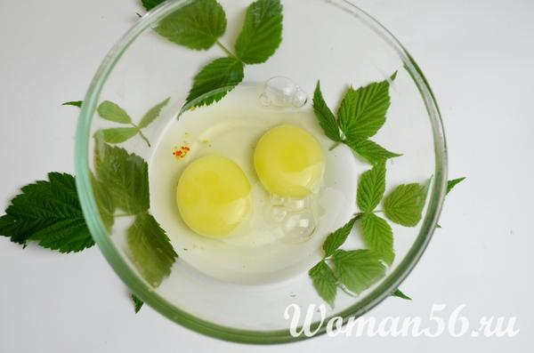 яйца для рыбной запеканки