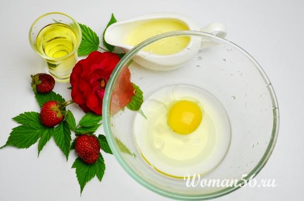 яйцо для теста на оладьи