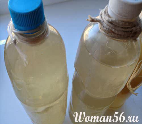 свежий березовый сок