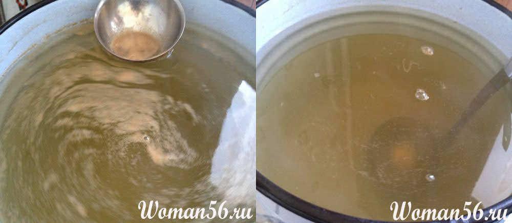 как варить березовый сок
