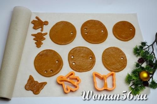 заготовка имбирного печенья
