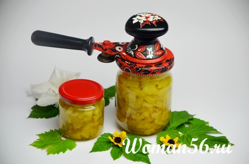 консервация кабачкового варенья