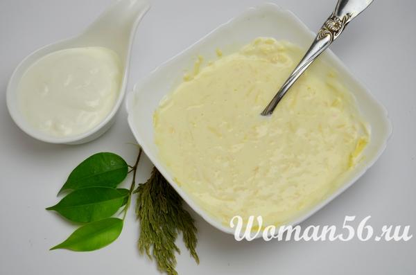 сыр со сметаной для запеканки