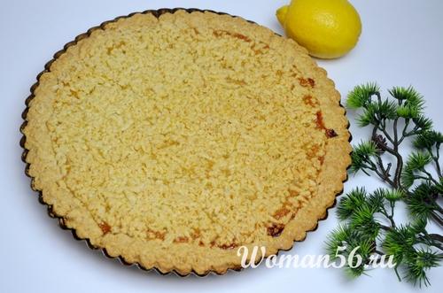 запеченный пирог с лимонами