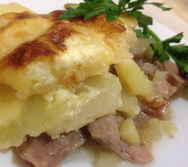 Индейка с картофелем в духовке