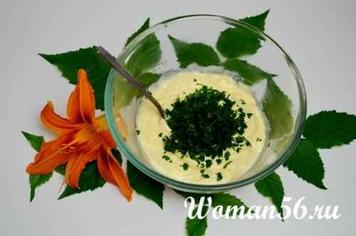зелень для соуса тартар