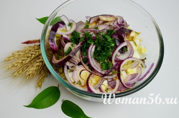 зелень для салата из маша